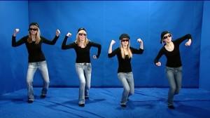 Dansande PraiseClub tjejer.